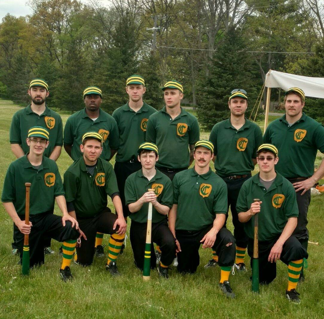 Canton Cornshuckers Vintage Base Ball Team photo