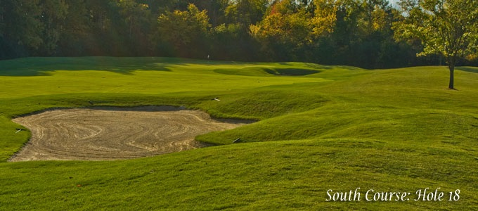 South Course: Hole 18